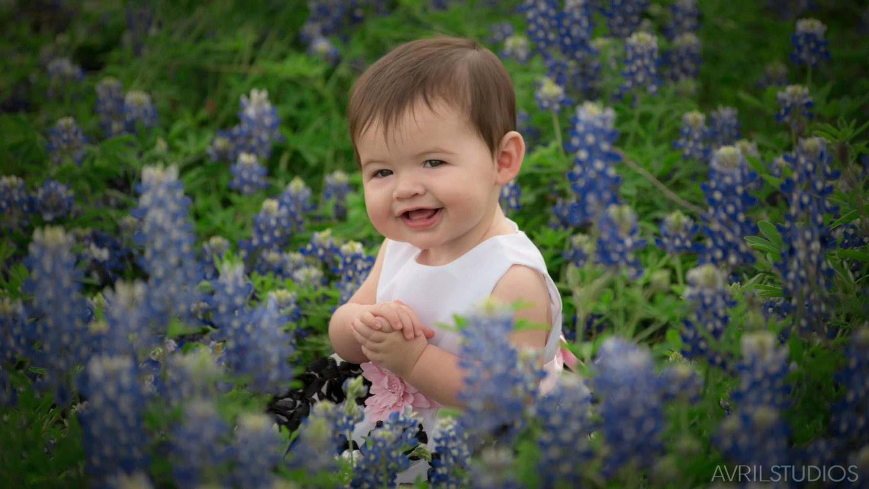 Baby in the Bluebonnets