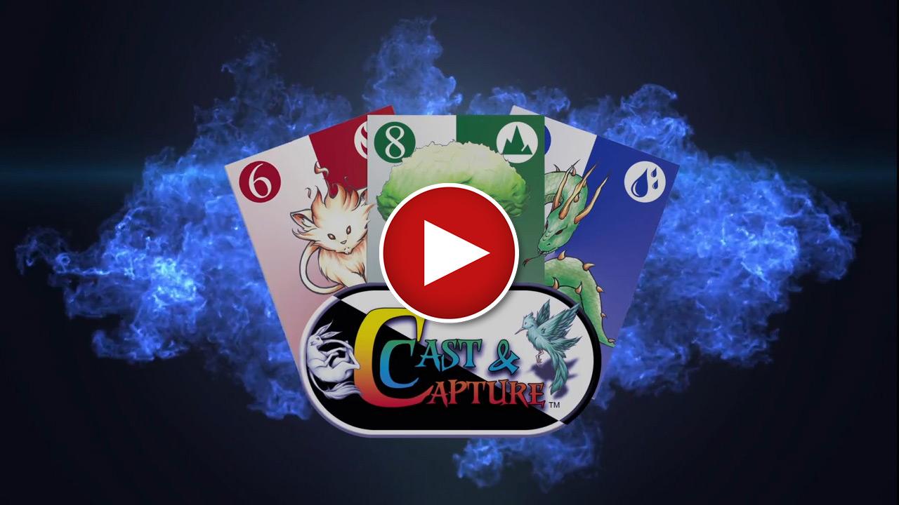 Kickstarter Video for Cast & Capture card game