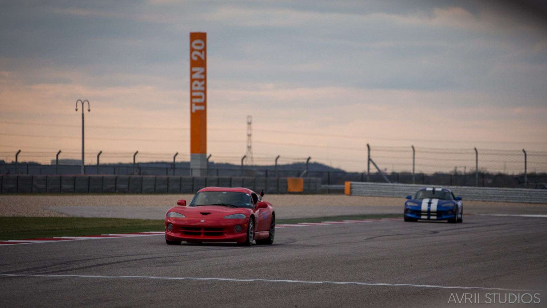 Racing at Circuit of the Americas