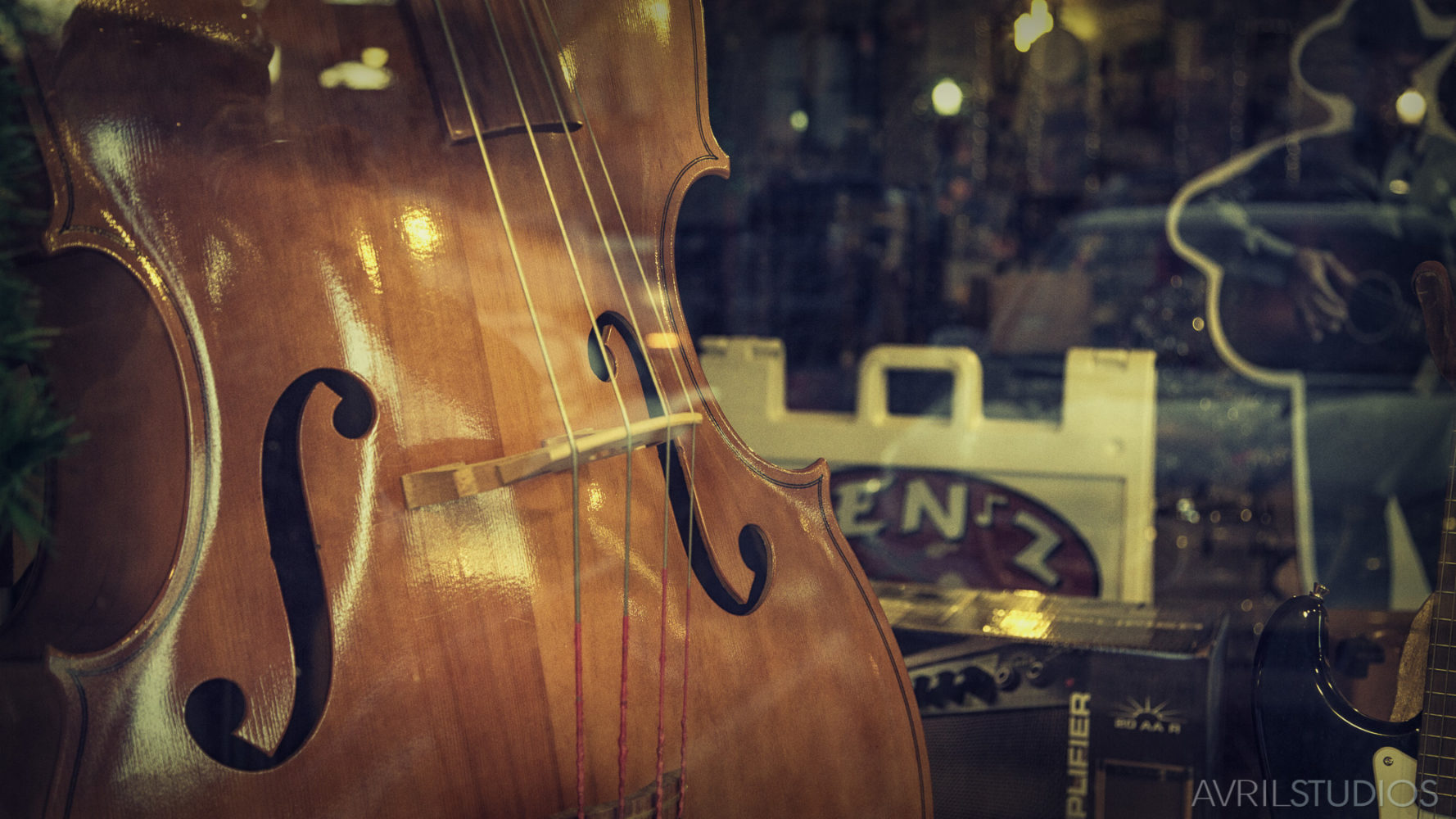 Cello in the Window