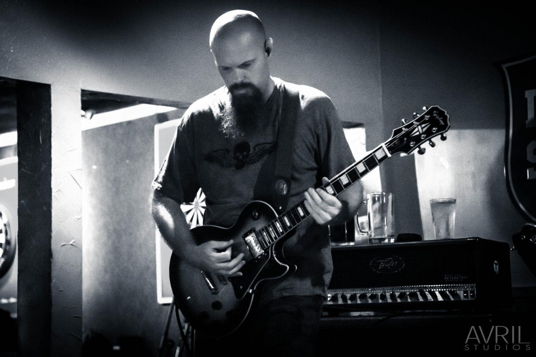 Torque Order's guitarist live