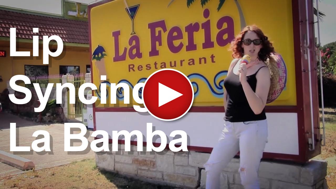 La Bamba Lip Sync Music Video