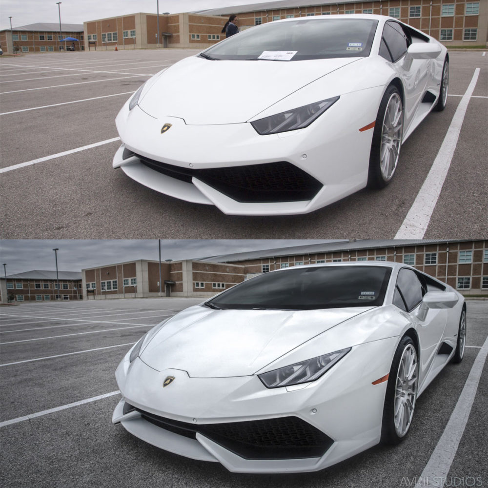 Lamborghini Before & After