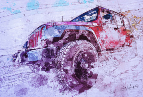 OurJeepDrawing